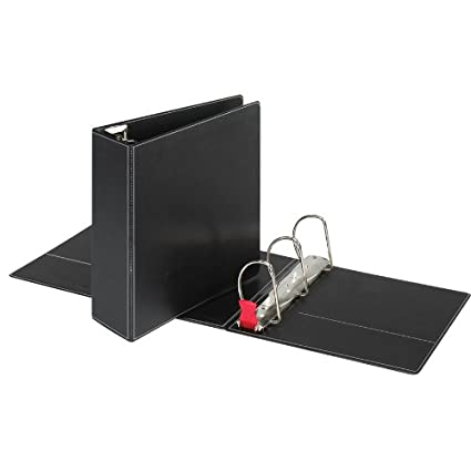 amazon com sparco slant d ring binder with sheet lifter 4 inches