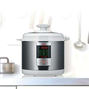Rosewill 7-in-1 Electric Multi-functional Programmable Pressure Cooker 6L/6Qt 1000W Stainless Steel RHPC-15001