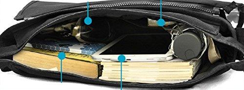 miraclel Anime Cosplay Canvas Rucksack Messenger Bag Umhängetasche schwarz Naruto 40cmx21cmx12cm Fate 4sgUgE