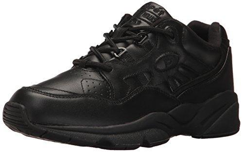 日光オフェンス失業者Prop?t(プロペット) メンズ 男性用 シューズ 靴 スニーカー 運動靴 Stability Walker Medicare/HCPCS Code = A5500 Diabetic Shoe - Black Leather [並行輸入品]