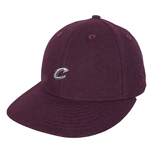 Cappellino Bordeaux Cap Fitted Cavs 59fifty Era Baseball Pin New Rosso Low 6pqx45