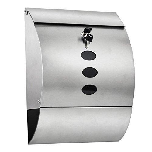Waterproof Mailbox - TOOGOO(R)Waterproof Stainless Steel ...