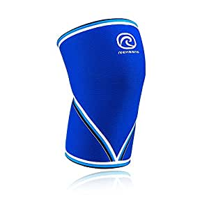 Rehband 7mm Knee Sleeve - Model 7051 Original Blue (X-Small (27-30cm))