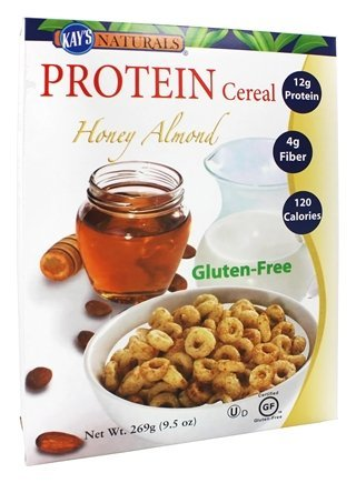 Kays Naturals 0807602 Better Balance Protein Cereal Honey Almond, 9.5 oz - Case of 6