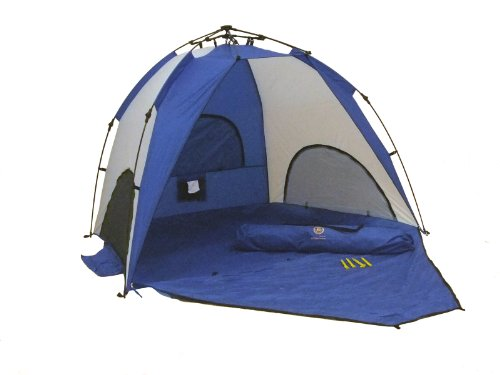 Genji Sports One-Step Instant Push Up Hexagon Beach Tent (Tall)