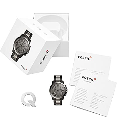 Fossil Q Grant Stainless Steel Hybrid Smartwatch by Fossil