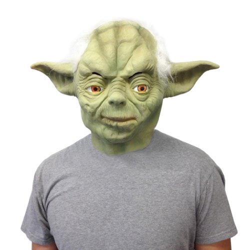 [Yoda Style Mask - Off the Wall Toys] (Yoda Costumes For Adults)