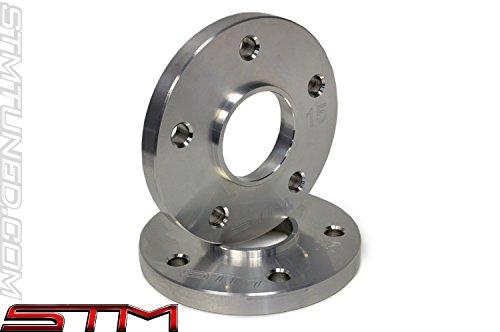 STM Aluminum Wheel Spacers (Pair) (5x114.3) (15mm) - Evolution 8/9 - DSM (Mm Aluminum Wheel Spacers)