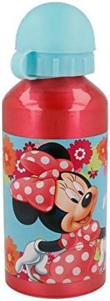 Stor Botella Aluminio 400 ML | Minnie Mouse - Disney - Bloom