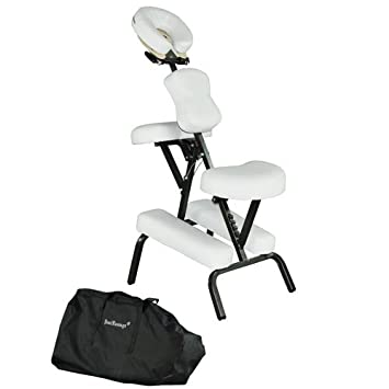 amazon com premium bestmassage white 4 portable massage chair