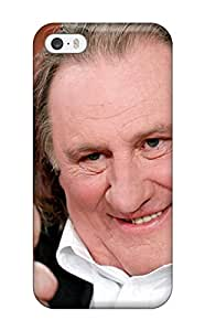 Tpu Case Cover For Iphone 5/5s Strong Protect Case - Gerard Depardieu Design