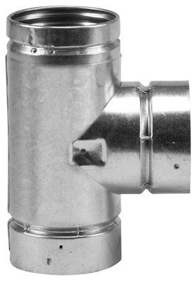 (4'' Selkirk VP Pellet Vent Pipe Tee with Tee Cap - 4VP-TS by Selkirk VP Pellet Vent Pipe)