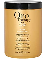 Fanola Oro Puro Illuminating Keratin Argan Mask, 1000 ml