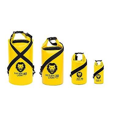 Adventure Lion Premium Series Waterproof Dry Bags For Kayaking, Camping, Boating