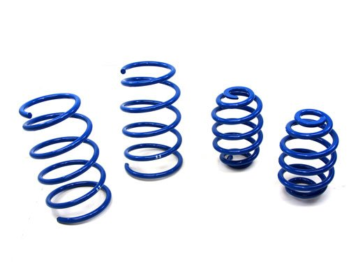 - 92 (late)-98 BMW E36 325i 328i 2 & 4 doors 6 Cyl Lowering Springs Blue