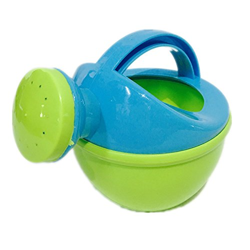LITTLEPIG Baby Bath Toys Watering Can Beach Sand Green Toys Set Bath Fountain Garden For Kid 1pcs