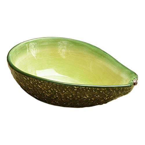 Home Gourmet Collection Small Ceramic Avocado Serving Bowl