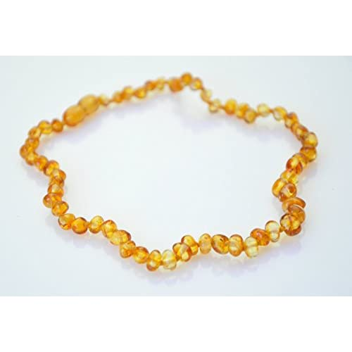 Top Amber teething necklace. HONEY BAROQUE BABY Amber Necklace. Authentic Baltic Amber Baby Teething Necklace supplier