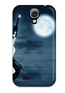 S4 Scratch-proof Protection Case Cover For Galaxy/ Hot Black Rock Shooter 1920 Phone Case