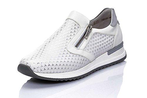 F 942164 Weiß argento Weiss 3 2 silber 1 Damen Remonte weiss slipper EYwf6Rq