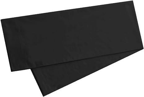 100/% Cotton//400 TC//Chocolate Brown//Pillowcase//Case for Body Pillow//3 Lengths