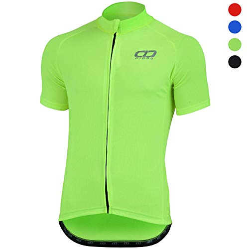 Didoo Cycling Jersey for Men Short Sleeve Tops Mountain Bike/MTB Shirt Summer Racing Lightweight Breathable Tight…