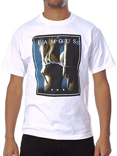 Famous Stars & Straps Herren Blusen T-Shirt Weiß Weiß