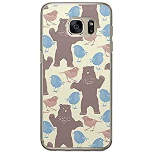 Loud Universe Samsung Galaxy S7 Spring Beer Chicks Pattern Printed Transparent Edge Case - Multi Color