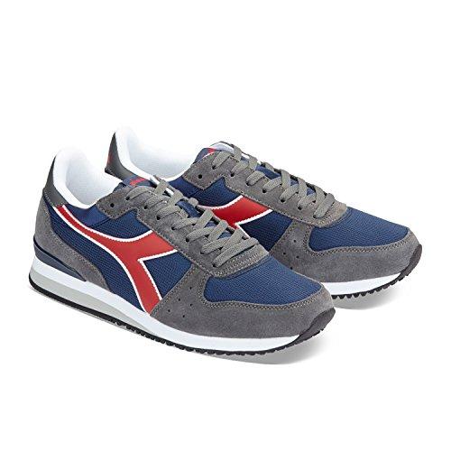 Acciaio Estate Sneaker Uomo Diadora Malone C7044 Blu grigio Xqx0Bvx5