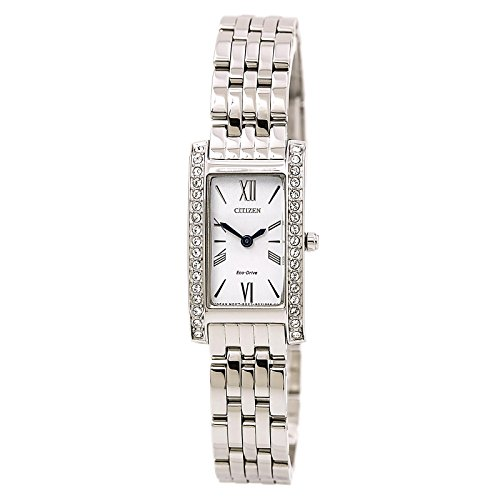 Citizen Women's Eco-Drive Stainless Steel Silhouette Crystal Watch