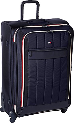 Tommy Hilfiger Classic Sport 28 Inch Expandable Luggage, Navy/Navy, One Size by Tommy Hilfiger