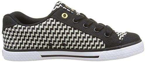 Noir Sneakers Shoes DC TX Femme Bg3 Se Basses Chelsea P0CdqxIdw