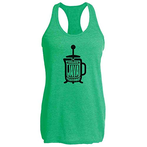 The Original Java Programmer French Press Coffee Heather Kelly S Womens Tank Top ()