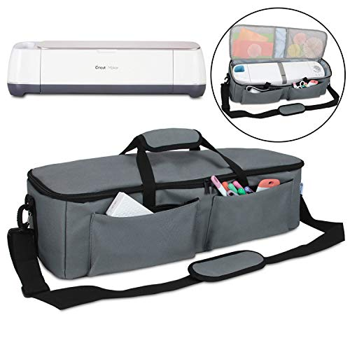 - Yarwo Carrying Bag for Cricut Explore Air (Air 2), Cricut Maker, Tote Bag Travel Bag Compatible with Cricut Explore Accessories and Supplies, Gray