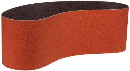 3M(TM) Cubitron(TM) II Cloth Belt 984F, Precision Shaped Ceramic Grain , Wet/Dry, 6'' Width x 48'' Length, 60+ Grit (Pack of 20) by 3M