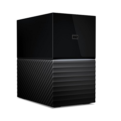 WD 8TB My Book Duo Desktop RAID External Hard Drive - USB 3.1  - WDBFBE0080JBK-NESN