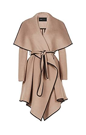 Image result for BCBG Maxazria Woman's Cameron Taupe Wool