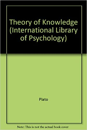 Book Theory of Knowledge (International Library of Psychology)