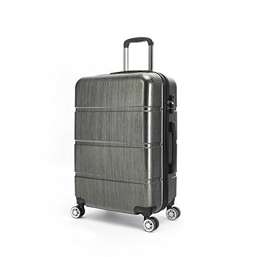 Compaclite Passenger ABS + PC Spinner 28 inch / Strong Lightweight Luggage, Dark Grey