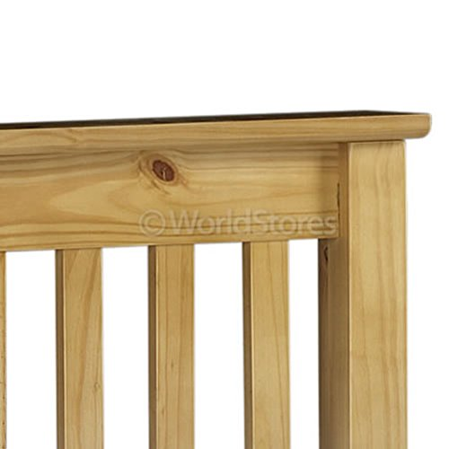 Monaco 46 Bed High Foot End in Antique Pine