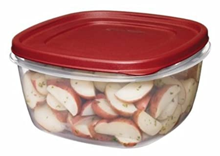 Rubbermaid Easy Find Lids Square 14-Cup Food Storage Container (Pack of 2)