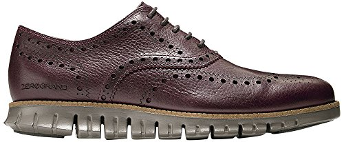 Cole Haan Mens Zerogrand Vinge Oxford Redwood Läderhavsutter