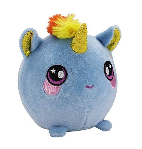 SQUEEZAMALS, Beatrice Unicorn - 3.5 Super-Squishy Foam Stuffed Animal! Squishy, Squeezable, Cute, Soft, Adorable!