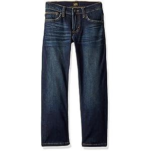LEE Big Boy Proof Fit Straight Leg Jean, Show/Off, 8 Husky