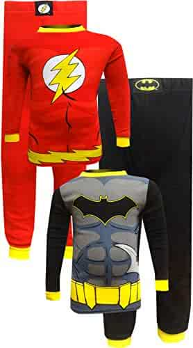 Komar Kids DC Comics Big Boys  Batman The Flash Cotton 2-Pack Pajamas 78cc75ec4