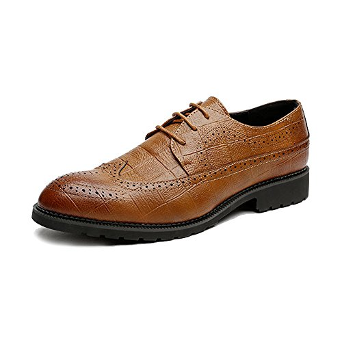 Sunny da Dimensione brogue Brown classiche pelle 43 Color in Nero Resistente EU all'abrasione uomo Scarpe PU amp;Baby 0qOB0r