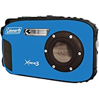 COLEMAN C9WP-BL 20.0 Megapixel Xtreme3 HD/Video Waterproof Digital Camera (Blue) electronic consumer Electronics