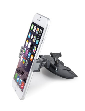 APPS2Car Car CD Slot Holder Mobile Phone Mount for iPhone 7, 7 Plus, 6S, 6S Plus, 6, 6 Plus, Google Nexus 6 5, Samsung Galaxy S7 S6 S5 A9 A8 A7 A5
