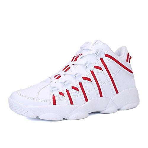 Los Hombres De Invierno Al Aire Libre Del Otoño Del Resorte CHT Estudiantes De Deportes De Ocio Marea Zapatos Corrientes De Tamaño Blanco Negro Rojo Opcional Red
