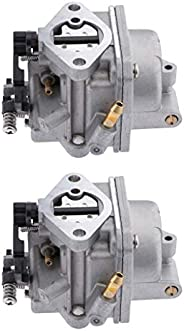 Dolity 2X Carburetor Carb Assy 4 Stroke for Tohatsu Nissan Outboard 4HP 5HP